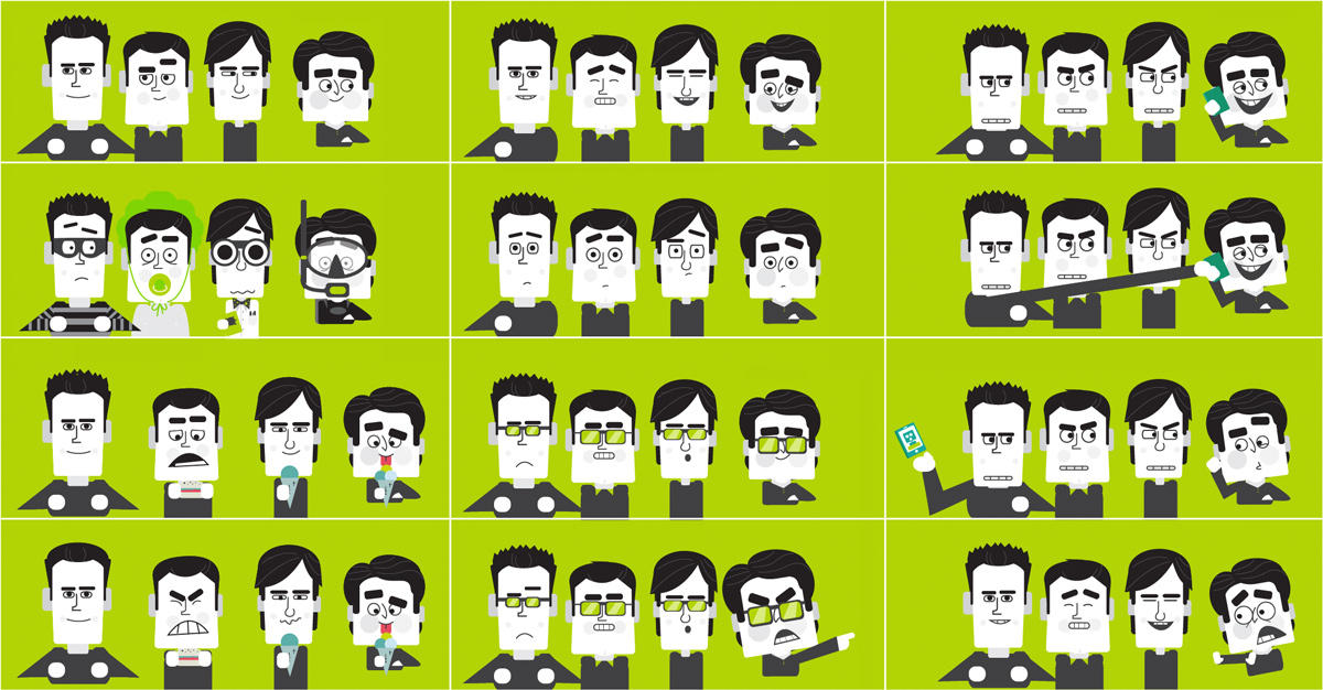 Tomtom Characters