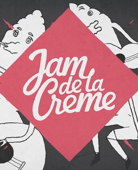 2d: Jam de la Crème – festival promo